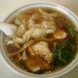 41) ワンタンメン食った